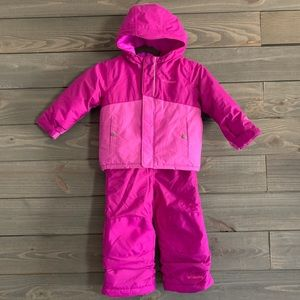 Columbia Girls Ski Suit 3T